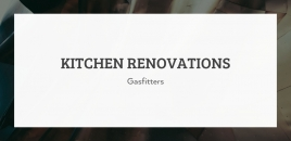 Kitchen Renovations | Gasfitters Wilson Wilson