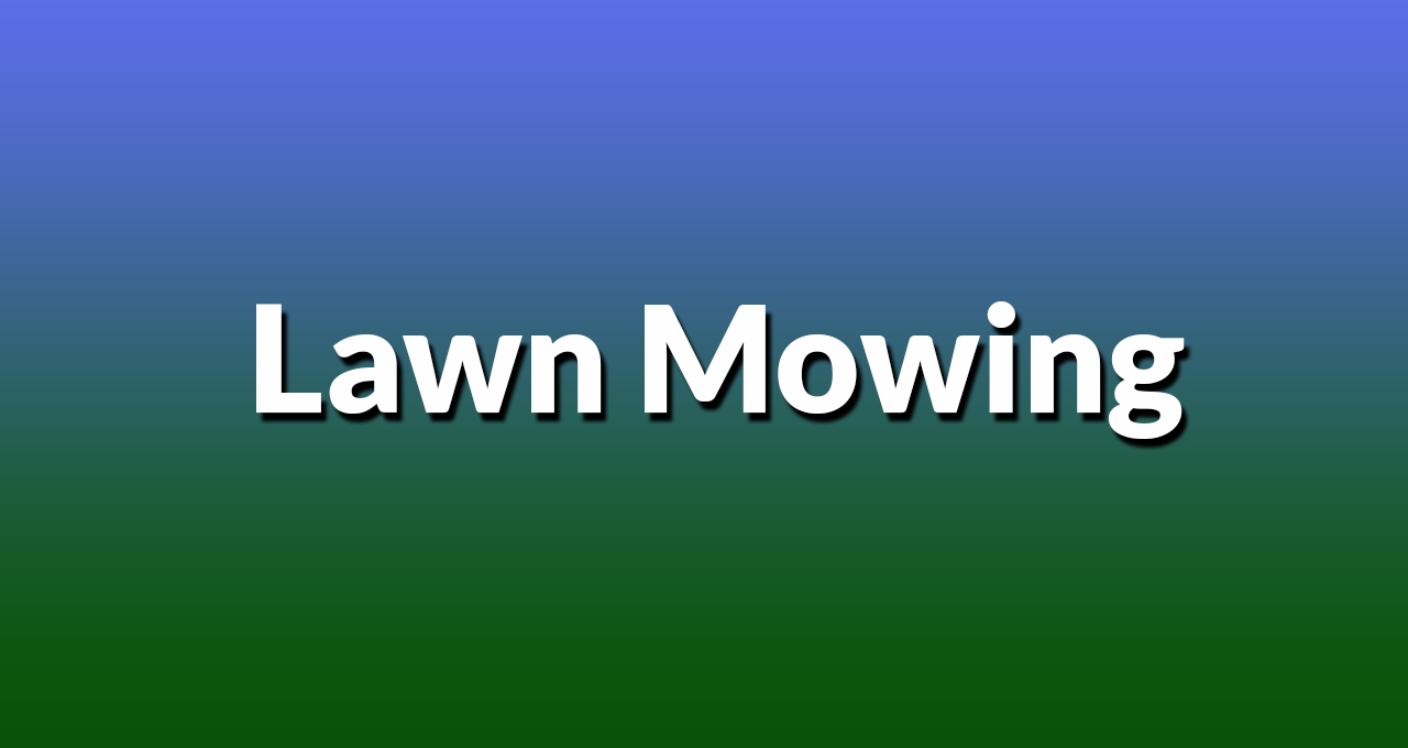 Lawn Mowing Hamlyn Terrace Lawn Mowers Hamlyn Terrace
