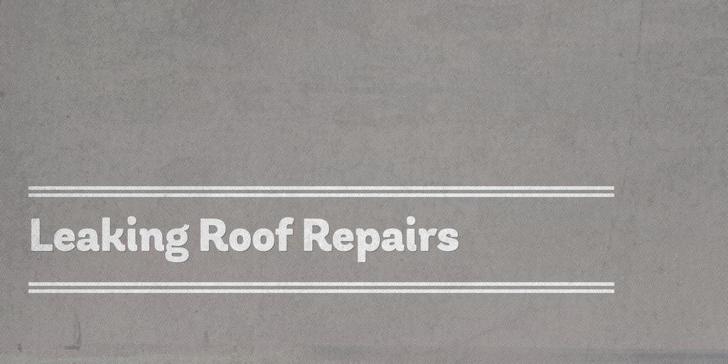 Leaking Roof Repair north geelong