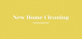 New Home Cleaning Leederville