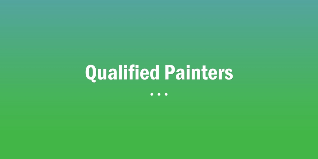Qualified Painters Chatswood