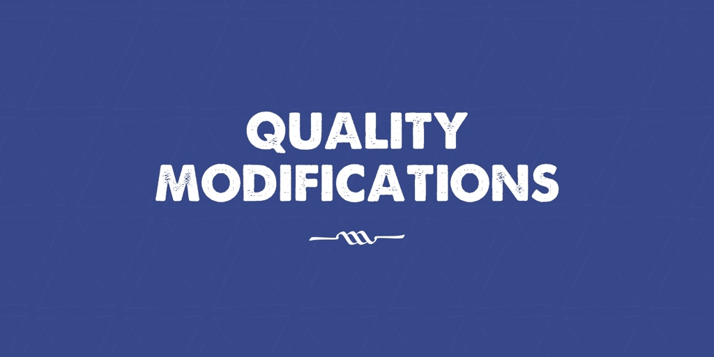 Quality Modifications Leanyer