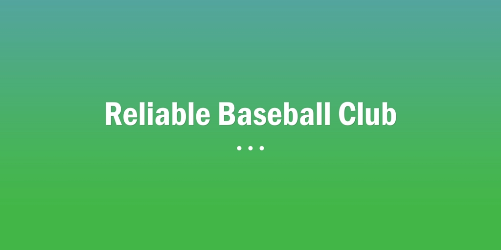 Reliable Baseball Club Casuarina Baseball Club Casuarina