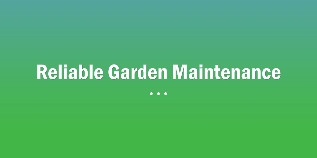 Reliable Garden Maintenance Merrylands