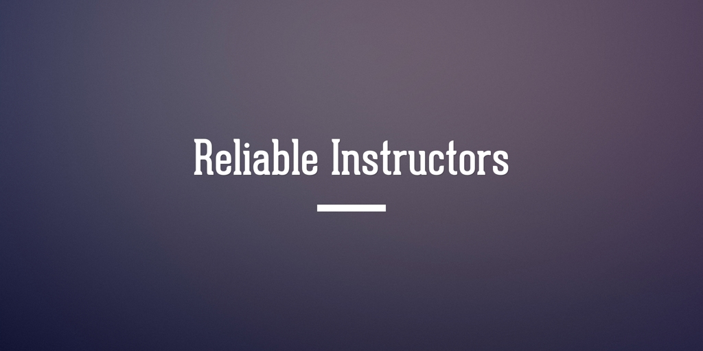 Reliable Instructors Adelaide