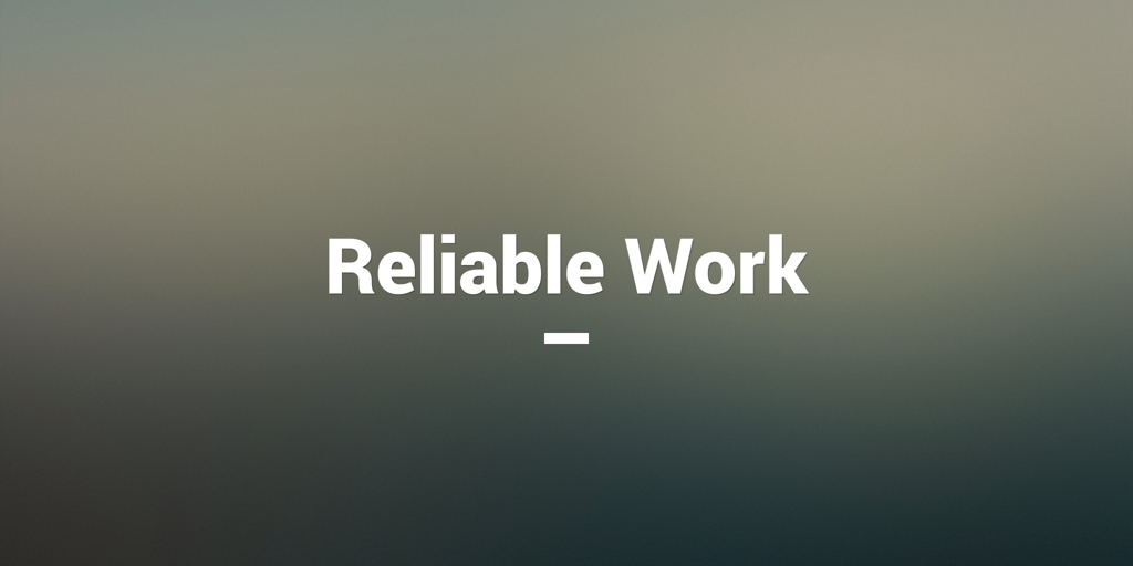 Reliable Work Chatswood