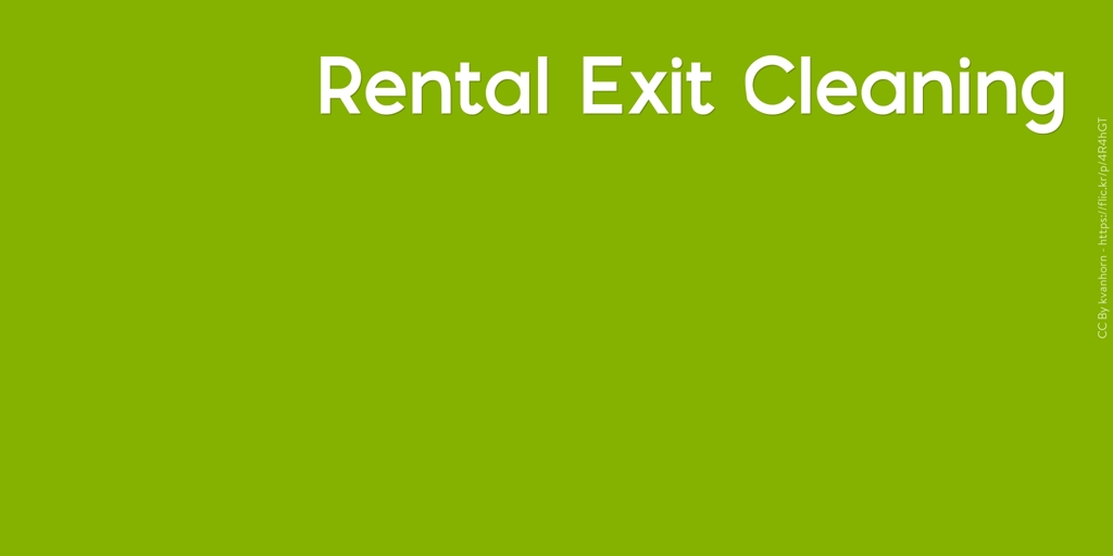 Rental Exit Cleaning Homebush