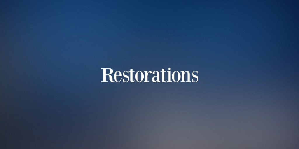 Restorations Marrickville