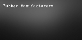 Rubber Manufacturers | Hindmarsh Rubber Manufacturers Hindmarsh