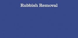 Rubbish Removal Mascot