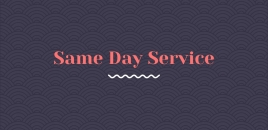 Same Day Service hackett