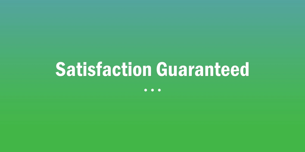 Satisfaction Guaranteed | Como Gardeners and Landscapers Como