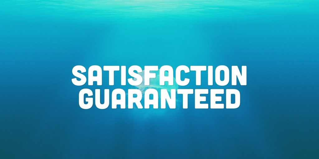 Satisfaction Guaranteed Indented Head Carpenters Indented Head