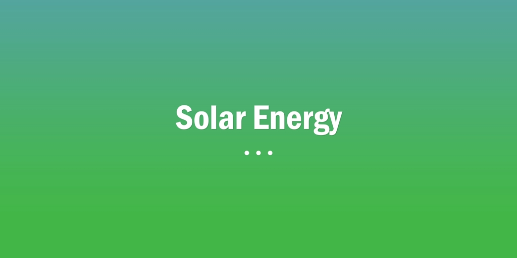 Solar Energy Broadview