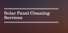 Solar Panel Cleaning Services flemington