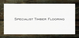 Specialist Timber Flooring Coogee