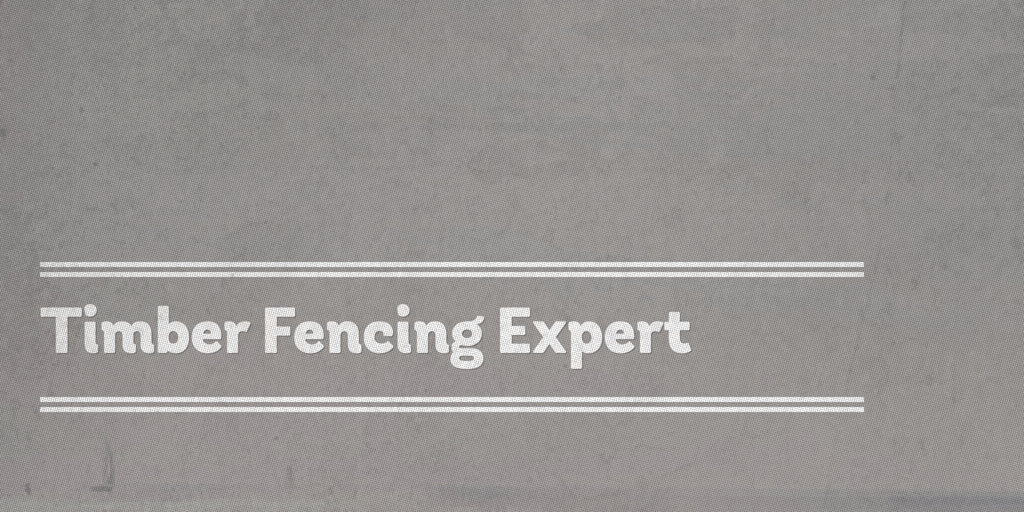 Timber Fencing Expert Clayton