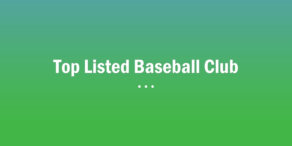 Top Listed Baseball Club Findon