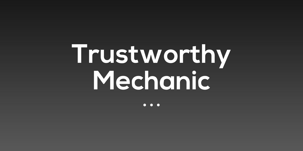 Tristworthy Mechanic Kirrawee Mechanics and Motor Repairs Kirrawee