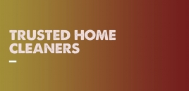 Trusted Home Cleaners burnley