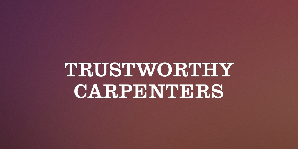 Trustworthy Carpenters Caroline Springs Carpenters Caroline Springs