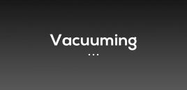 Vacuuming North Narrabeen