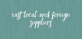 Vast Local and Foreign Suppliers East Toowoomba
