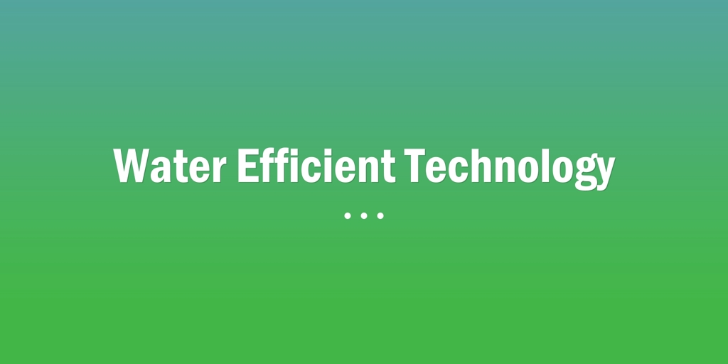 Water Efficient Technology Carlton