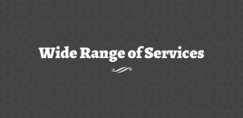 Wide Range of Services Maitland