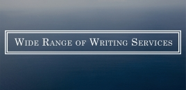 Wide Range of Writing Services Sydney