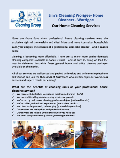 Our Home Cleaning Services Worrigee