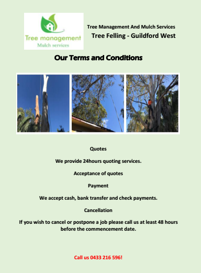 Our Terms and Conditions Guildford West