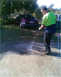 Services and About Us - Industrial and Commercial Cleaners Tamborine Mountain