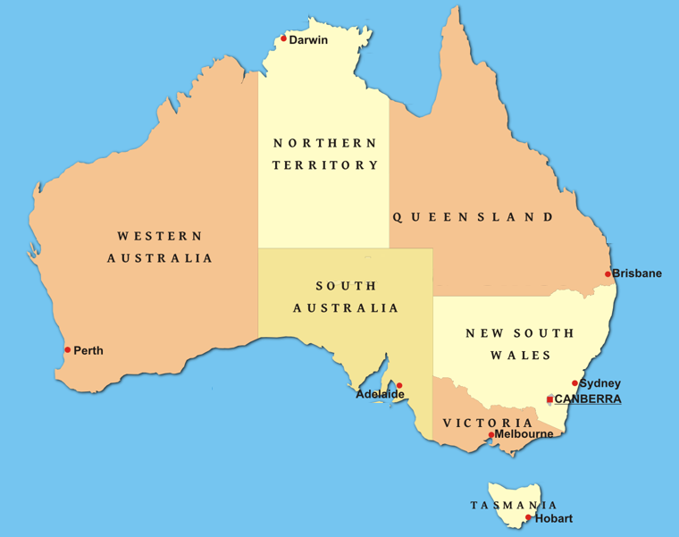 This is an Australian Website. The latitude and longitude coordinates of Australia are -25.274398 133.77513599999997